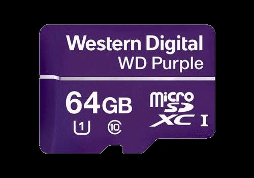64 GB microSD-XC (WDD064G1P0A)